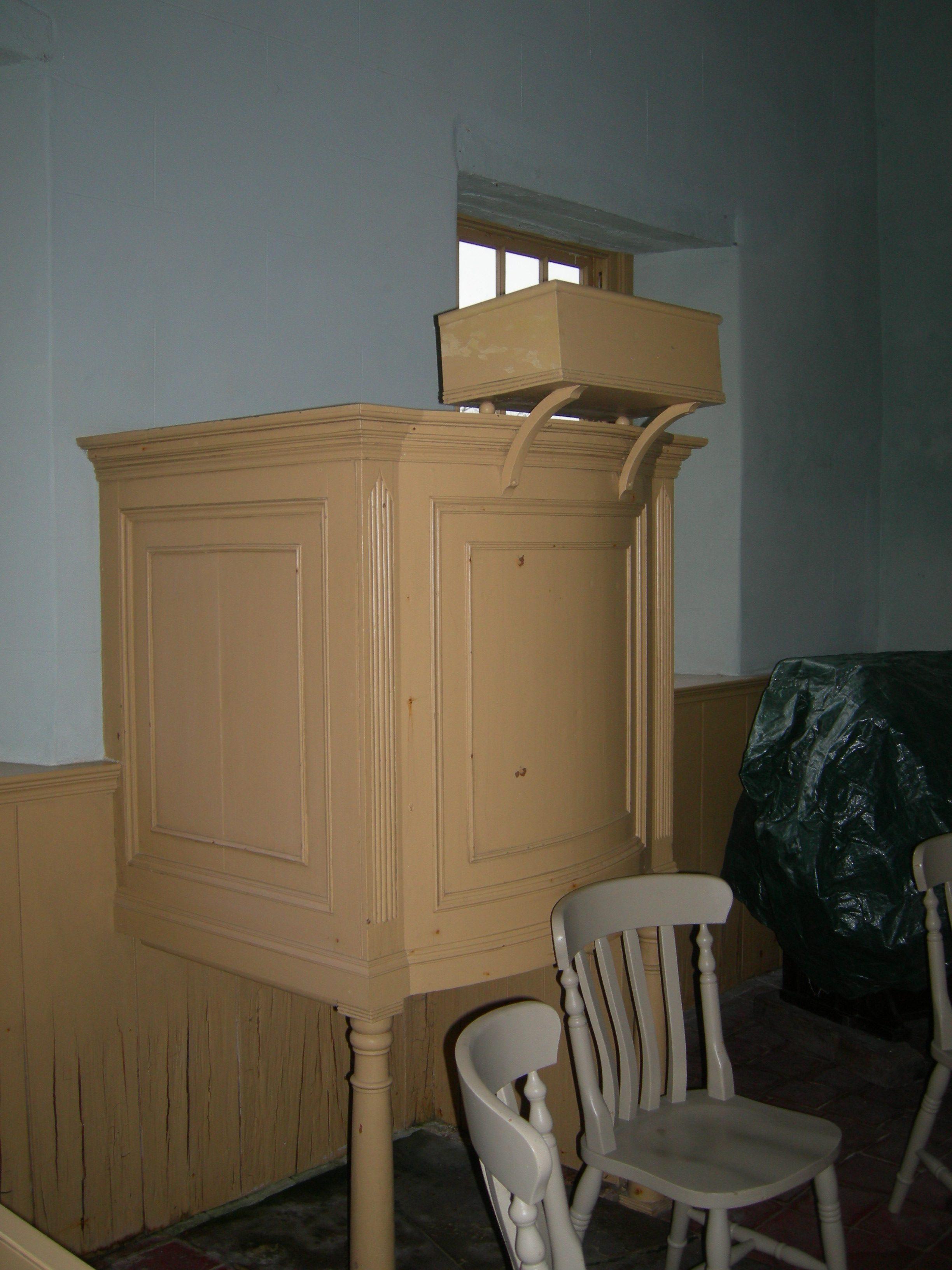 Monksthorpe Baptist Chapel - Pulpit