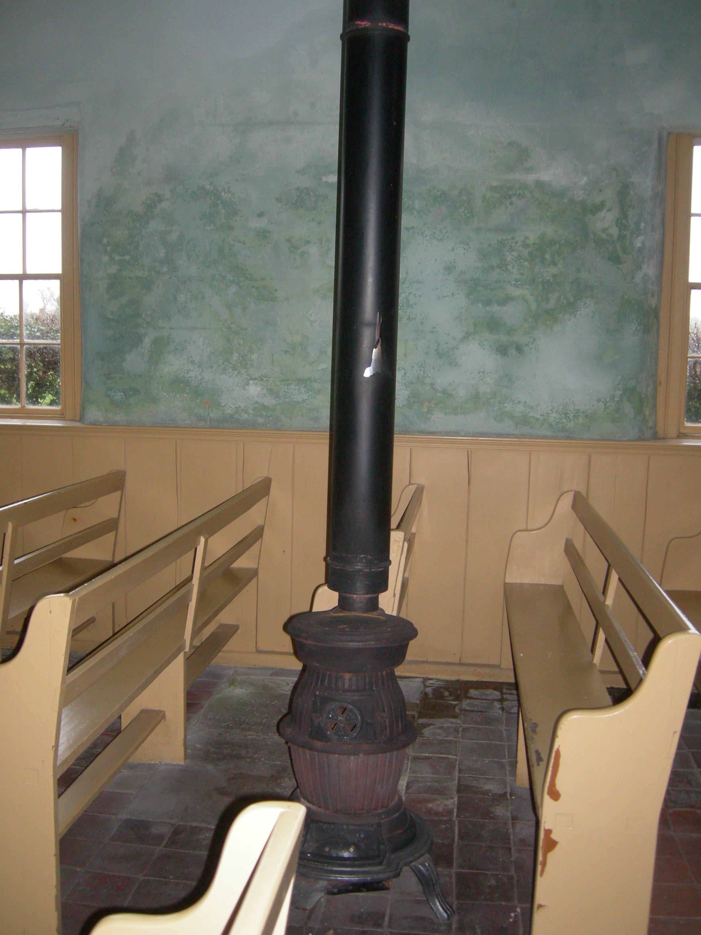 Monksthorpe Baptist Chapel - Stove